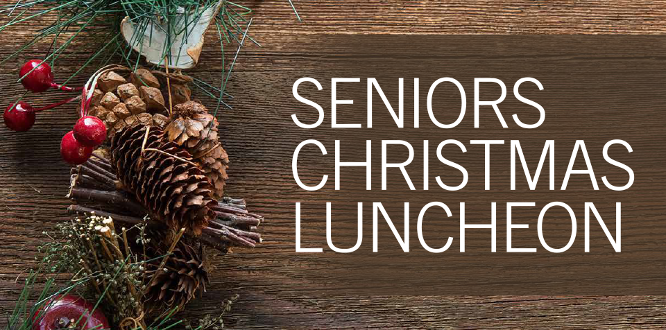 Elegant Christmas Luncheon for Seniors